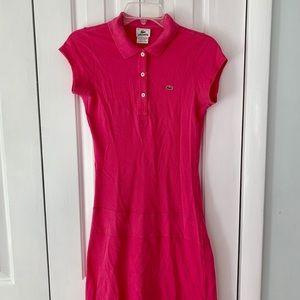 Lacoste 36 Small Polo Tennis Dress